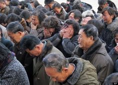 North Korea is banishing citizens who do not seem sincere in mourning the death of Kim Jong Il to labor camps. Where it is estimated, according to Amnesty International, that of the population will die. Life In North Korea, Kim Jong Il, Amnesty International, Oppression, Camps, Citizen, Book Worms, Death, Events