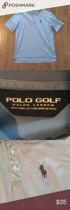 Men's Polo Golf Polo Barely worn Ralph Lauren 'Big Pony' polo golf shirt. Size large. Has the southern highlands country club collegiate masters logo on left sleeve. Polo by Ralph Lauren Shirts Polos