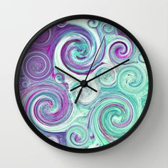 Buy flow by Sylvia Cook Photography as a high quality Wall Clock. Worldwide shipping available at Society6.com. Just one of millions of products available.