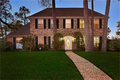 1714 Castlerock Dr, Houston, TX - 5 Bed, 3 Bath Single-Family Home - 40 Photos Texas Homes, Houston Tx, Building A House, Home And Family, Budgeting 101, Bath, Mansions, House Styles, Houses