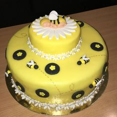Mother to bee Bee, Birthday Cake, Cakes, Desserts, Food, Tailgate Desserts, Honey Bees, Deserts, Cake Makers