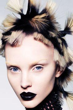 Hair: Errol Douglas MBE. Colour: Jasmin Allen & Jade Blackley at Errol Douglas Salon. Make-up: Kylie O'Toole. Stylist: Leticia Dare. Photography: Andrew O'Toole