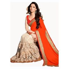 Tamnna Georgette Embroidered Work Festive Wear & Party Wear Saree at just Rs.899/- on www.vendorvilla.com. Cash on Delivery, Easy Returns, Lowest Price.