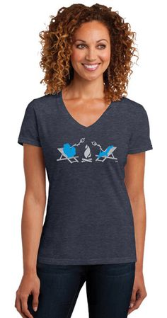 Let's go camping! Michigan Campfire Tee at Livnfresh.com