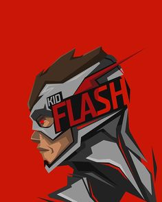 This HD wallpaper is about Kid Flash illustration, superhero, DC Comics, red background, Original wallpaper dimensions is file size is Kid Flash, Marvel Vs, Marvel Dc Comics, Flash Wallpaper, Mobile Wallpaper, Dc Characters, Dc Heroes, Cultura Pop, Anime