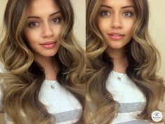 Balayage Hair with Nicky Lazou Spring Hairstyles, Curled Hairstyles, Beauty Makeup, Hair Makeup, Hair Beauty, Beauty Tips For Skin, Beauty Hacks, Nicky Lazou, Kaushal Beauty