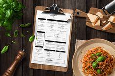 microsoft word restaurant menu template