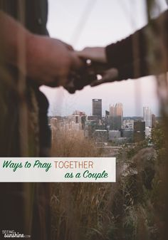 6 Ways to Pray Together as a Couple: Prayer is an intimate part of a marriage and a relationship with God. Praying together as a couple can be so important to both relationships.