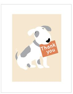 Thank you cards pale tan hand made and printed with envelopes 5 x 7 inches