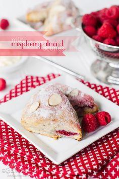Mini Raspberry Almond Scones by Bakingdom