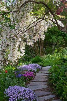 Non fare della tua vita una strada dove molti passano ma un giardino dove molti vorrebbero restare e pochi possono farlo
