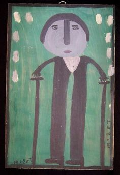 Mose Tolliver folk art- just love the simplicity Beauty Unique, Primitive Furniture, Naive Art, Aboriginal Art, Outsider Art, Early American, Teaching Art, Chilling, Mixed Media Art