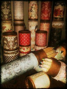 Lapiceros by ch... #scrapbooking #scrap #chbycarolacoch #handmade #inspiration #art #vintage
