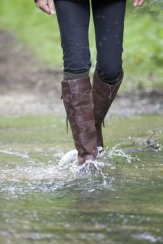 Dubarry of Ireland knee high Galway Boots, by Dubarry - Oyster Bamboo Fly Rods on Taigan