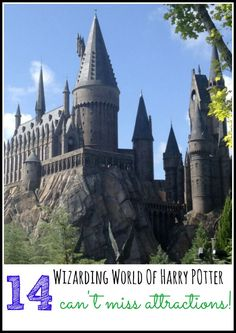 Find 14 can't miss attractions in this tour of the Wizarding World of Harry Potter at Universal Orlando. Plus tips and tricks to have your best vacation!