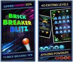 Hi Gamers Check Out Our Latest IOS Game Brick Breaker Blitz Is Now