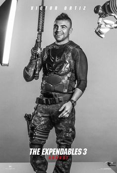 Expendables 3 Poster | expendables 3 victor ortiz poster 570x844 Expendables 3 Unveils 16 ...