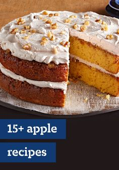 15+ Apple Recipes – Our apple recipes cover the complete range of apple awesomeness—from breakfast-fare like muffins and pancakes to classic fall dinners featuring pork loin and pork chops. And for dessert? We have an entire collection of apple pies.