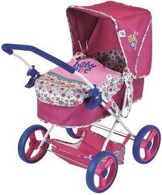Baby Alive Diana Pram Doll Stroller Baby Dolls For Kids, Baby Doll Toys, Toys For Girls, Children Toys, Toddler Toys, Baby Alive Doll Clothes, Baby Alive Dolls, Baby Doll Strollers, Baby Prams