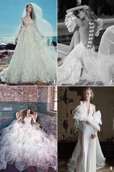 """Last but not least, here comes the wedding dresses to complete our """"BEST OF 2016"""" series! Out of all the jaw-droppingly gorgeous wedding dresses we've featured this year, you definitely showed us your favorites through likes, shares, and passionate inquiries. We are honestly in love with every single dress we feature, especially these ones below …"""