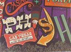 Phish Posters, Mgm Grand Garden Arena, Oct 1, Las Vegas, Boss, Last Vegas
