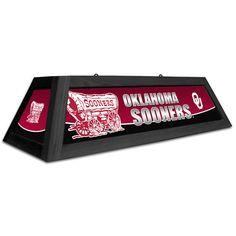 """Oklahoma Sooners 42"""" Spirit Pool Table Light"""