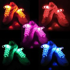 2win2buy 5 Pairs Waterproof Luminous LED Shoelaces Fashion Light Up Casual Sneaker Shoe Laces Disco Party Night Glowing Shoe Strings - http://droppedprices.com/sneakers/2win2buy-5-pairs-waterproof-luminous-led-shoelaces-fashion-light-up-casual-sneaker-shoe-laces-disco-party-night-glowing-shoe-strings/