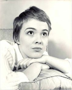 Portrait of Jean Seberg, 1960's