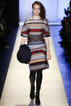 Catwalk photos and all the looks from Herve Leger Autumn/Winter 2016-17 Ready-To-Wear New York Fashion Week