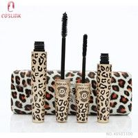 Leopard 3D Black Fiber Mascara Lash Slender Set from Love Alpha Cosmetics