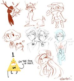 Late night scribbles during stream. Gravity Falls Theory, Garden Falls, Abandoned Malls, 3 Arts, Dream Art, Scribble, Animation, Fan Art, Draw