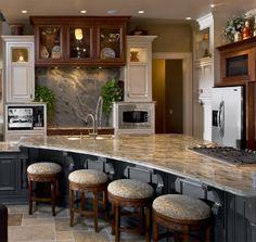 Dank unseren Granit Azul Aran Arbeitsplatten wird Ihre Küche zum Wohlfühlort.  http://www.arbeitsplatten-deutschland.com/Azul_Aran-geraeumige-arbeitsplatten-Azul_Aran