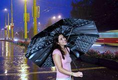 X-Ray Umbrellas - Anastacia Spada Turns Old Bone Photos Into Chic Rain Protection (GALLERY)