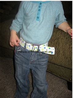 creaciones y tutoriales: Cinturón para niño.