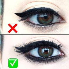 How To Apply Eye-Liner Perfectly! #Eye_Makeup
