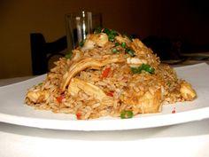 Peruvian-Chinese  dish