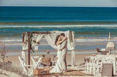 Gold Coast vintage beach wedding. Photography: SOUL Photographic Design. via Wedding Ideas Australia