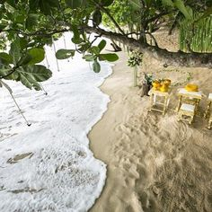 You won't find a wedding ceremony closer to the sea anywhere else in the world. #TheSarojin by thesarojin