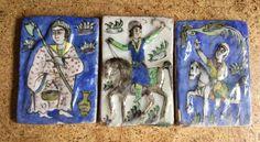 persian qajar pottery
