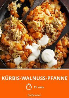 Kürbis-Walnuss-Pfanne - smarter - Zeit: 15 Min. | eatsmarter.de