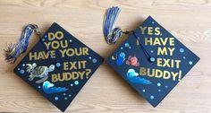 DIY: Finding Nemo Couples / Best Friends Graduation Caps
