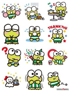 Download KEROKEROKEROPPI Stickers - KEROPPI frog funny - @mobile9 // To easily check out more stickers, download our Stickers & Messages iPhone/iPad App here: https://itunes.apple.com/us/app/stickers-messages-by-mobile9/id910446018?mt=8