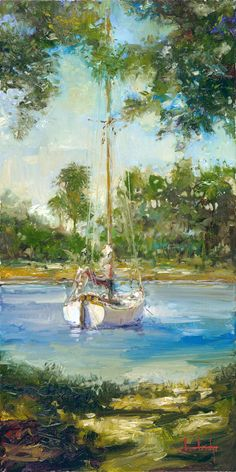 """ Calm Waters"" by Stephen Shortridge"