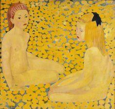 Cuno Amiet (1868-1961): Die gelben Mädchen, 1931, Kunstmuseum Bern,