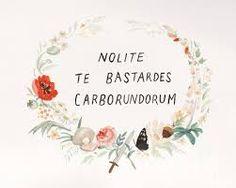 Image result for nolite te bastardes carborundorum