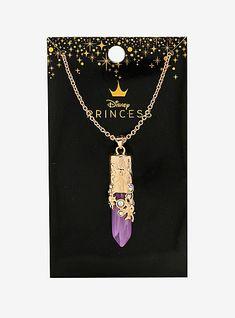 Disney Princess Jewelry, Disney Couture Jewelry, Disney Jewelry, Disney Necklace, Disney Rapunzel, Tangled Rapunzel, Disney Tangled Tattoo, Colar Disney, Skull Fashion
