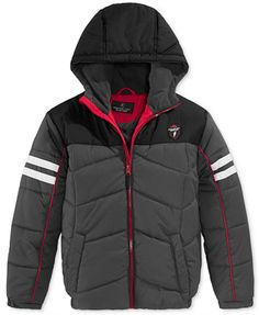 Protection Systems Boys' Colorblock Hooded Puffer Jacket | macys.com