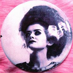 Pocket Mirror  Magenta  Rocky Horror Picture Show  by fussygussy