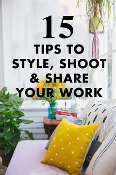 Need help styling, shooting and sharing your work online?