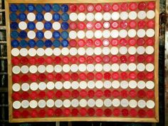 Poker Chip Flag